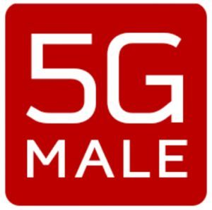 5G Male logo